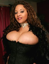 Lady Spice has the tastiest looking breasts capped with the yummiest looking nipples weve seen in a while.